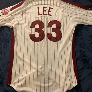 Philadelphia Phillies Throwback Cliff Lee Jersey